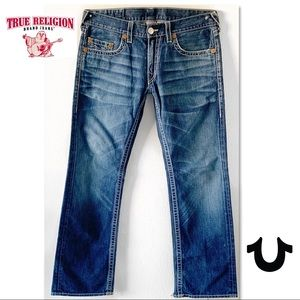 TRUE RELIGION BOBBY BIG T MENS JEANS 36 X 34